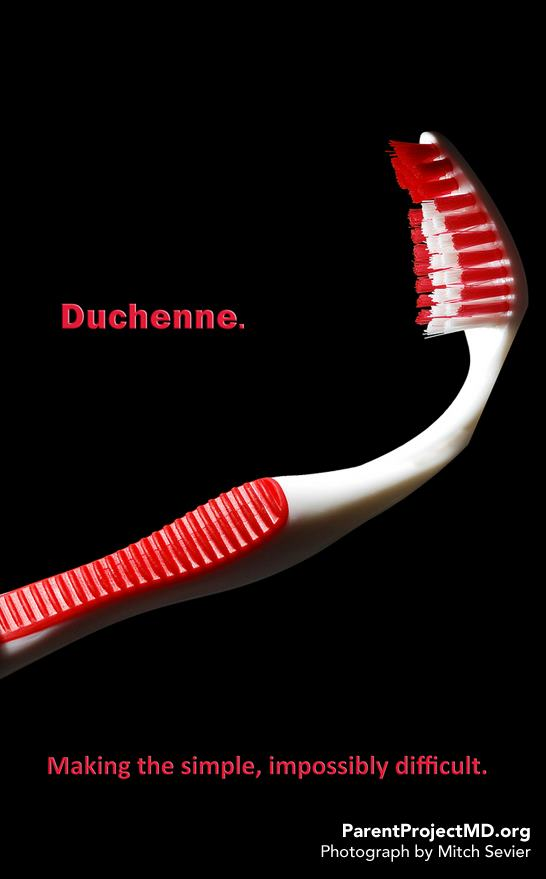 Duchenne. Making the simple, impossibly difficult.