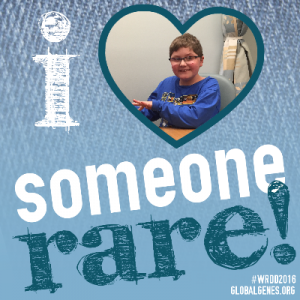 i love someone rare!